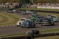 """<p>The former Lord March, now Duke of Richmond, hosts three marquee motor racing events at his Goodwood estate in the U.K.: <a href=""""https://www.caranddriver.com/news/g28310024/goodwood-festival-of-speed-2019/"""" rel=""""nofollow noopener"""" target=""""_blank"""" data-ylk=""""slk:the Festival of Speed"""" class=""""link rapid-noclick-resp"""">the Festival of Speed</a>, the <a href=""""https://www.caranddriver.com/news/g29104931/goodwood-revival-classic-cars-gallery/"""" rel=""""nofollow noopener"""" target=""""_blank"""" data-ylk=""""slk:Revival"""" class=""""link rapid-noclick-resp"""">Revival</a>, and <a href=""""https://youtu.be/UkFBSCM9kAw"""" rel=""""nofollow noopener"""" target=""""_blank"""" data-ylk=""""slk:Speed Week"""" class=""""link rapid-noclick-resp"""">Speed Week</a>. We've just returned from the second, which celebrates racing's early postwar period from the mid-1940s to the mid-1960s. No period-correct detail gets left out of the experience, right down to a Churchill look-alike strutting past Spitfires with a cigar in his mouth and two bodyguards in matching black suits at his side. This scribe isn't personally into dress-up and costume balls, but the Goodwood Revival feels so real and so comfortable with it that there's nothing pretentious about it. <br></p>"""