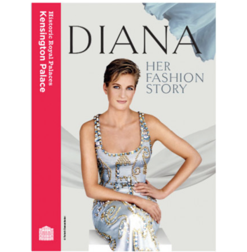 """<p>To commemorate 20 years since the untimely death of Princess Diana, Kensington Palace has played host to a new exhibition titled, 'Diana: Her Fashion Story'. Haven't had a chance to visit? This book gives readers the opportunity to learn about 25 of her most famous dresses and features over 80 illustrations.<br><em><a rel=""""nofollow noopener"""" href=""""http://www.historicroyalpalaces.com/giftcollections/history/princessdiana-herfashionstory-kensington/princessdiana-herfashionstory-exhibitionbook.html"""" target=""""_blank"""" data-ylk=""""slk:Historic Royal Palaces"""" class=""""link rapid-noclick-resp"""">Historic Royal Palaces</a>, £7.99</em> </p>"""