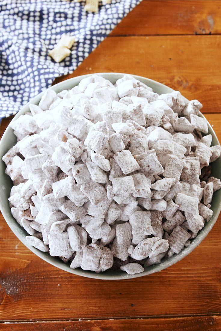 """<p>No one can deny some good puppy chow. </p><p>Get the recipe from <a href=""""https://www.delish.com/cooking/recipe-ideas/a25429878/puppy-chow-recipe/"""" rel=""""nofollow noopener"""" target=""""_blank"""" data-ylk=""""slk:Delish"""" class=""""link rapid-noclick-resp"""">Delish</a>.</p>"""
