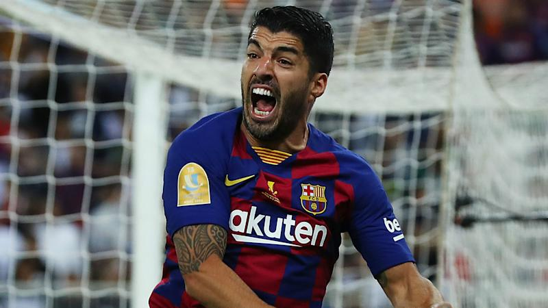 Overmars: Chances of Ajax signing Suarez from Barca are small