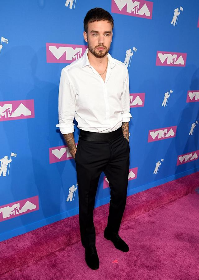 <p>Liam Payne attends the 2018 MTV Video Music Awards at Radio City Music Hall on August 20, 2018 in New York City. (Photo: Kevin Mazur/WireImage) </p>
