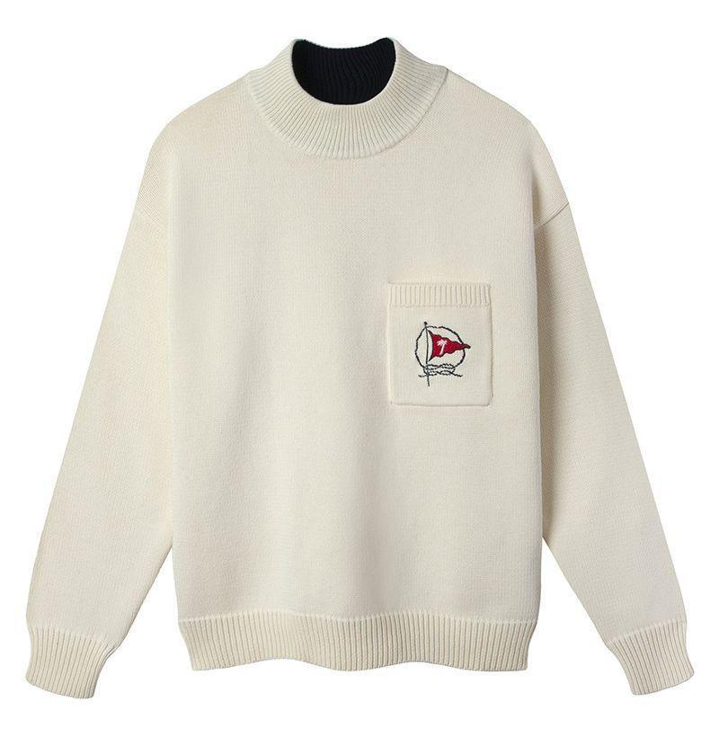 """<p><strong>Tombolo</strong></p><p>tombolocompany.com</p><p><strong>$158.00</strong></p><p><a href=""""https://www.tombolocompany.com/collections/frontpage/products/mariner-sweater-beige"""" rel=""""nofollow noopener"""" target=""""_blank"""" data-ylk=""""slk:Shop Now"""" class=""""link rapid-noclick-resp"""">Shop Now</a></p>"""