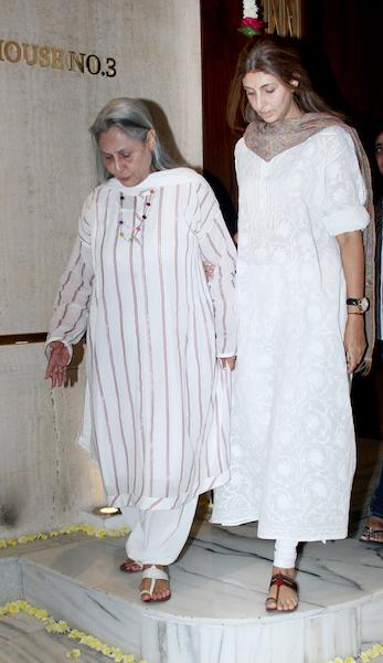 Jaya Bachchan and Shweta Nanda