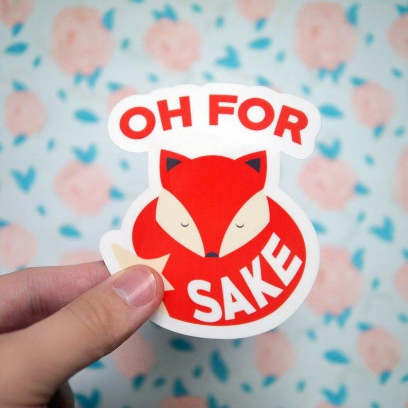 "<p>We love a good pun as much as the next person, so grabbing one of these <a href=""https://www.popsugar.com/buy/Oh-Fox-Sake-Stickers-493874?p_name=Oh%20For%20Fox%20Sake%20Stickers&retailer=etsy.com&pid=493874&price=3&evar1=geek%3Aus&evar9=46671902&evar98=https%3A%2F%2Fwww.popsugar.com%2Fnews%2Fphoto-gallery%2F46671902%2Fimage%2F46672415%2FOh-For-Fox-Sake-Sticker&list1=tech%20accessories&prop13=api&pdata=1"" rel=""nofollow"" data-shoppable-link=""1"" target=""_blank"" class=""ga-track"" data-ga-category=""Related"" data-ga-label=""http://www.etsy.com/listing/525240425/oh-for-fox-sake-sticker-cute-fox-vinyl"" data-ga-action=""In-Line Links"">Oh For Fox Sake Stickers</a> ($3) to slap on our stuff is a must.</p>"