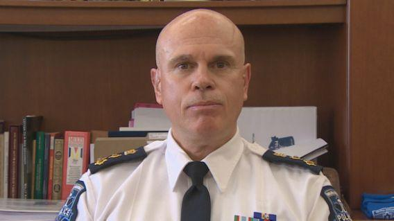 Halifax police chief Jean-Michel Blais 'very confident' drugs and cash were miscatalogued by officers. Photo from CBC.
