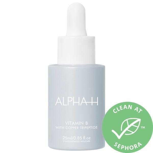 """<p>This <span>Alpha-H Vitamin B Serum with Niacinamide</span> ($55) improves skin's texture and tone with moisturizing niacinamide and ferulic acid, too. Copper peptides also inside offer added protection against the elements for plumper, healthier-looking skin as well.<br><br><em>Love all things beauty? Can't get enough products? Come join our Facebook Group, <a href=""""https://www.facebook.com/groups/389401751481325/"""" class=""""link rapid-noclick-resp"""" rel=""""nofollow noopener"""" target=""""_blank"""" data-ylk=""""slk:Real Reviews With POPSUGAR Beauty""""><span class=""""s1"""">Real Reviews With POPSUGAR Beauty</span></a> There are lots of fun conversations happening there, as well as all the product recommendations you could ask for - not just from us, but also community members, too.</em></p>"""