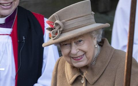 The Queen attends church at Sandringham on Sunday - Credit: Mark Cuthbert
