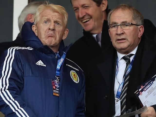 Gordon Strachan's side sit in fifth place in their World Cup qualifying group: Getty