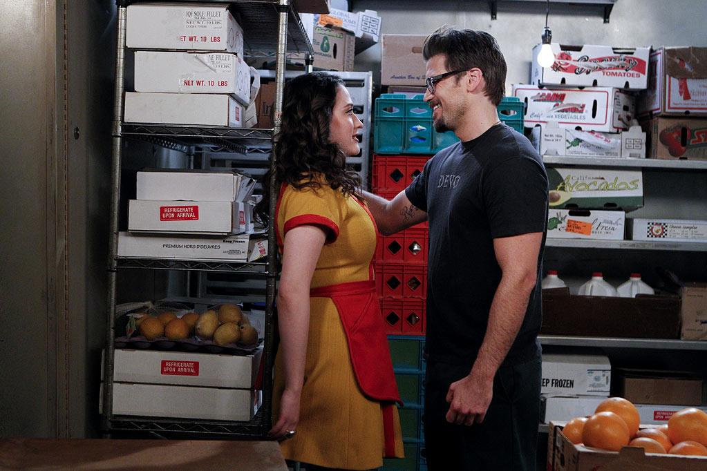 "Kat Dennings and Nick Zano, ""<a>2 Broke Girls</a>""<br>Status: Reportedly dating"