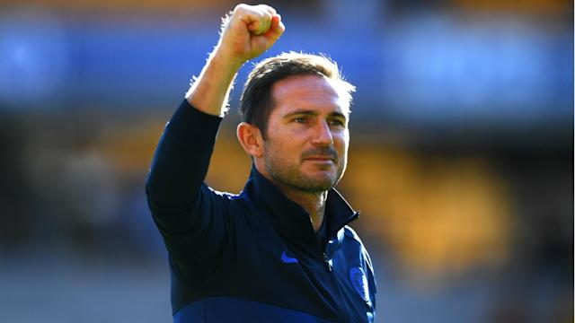 """The Premier League's manager of the month """"curse"""" was playing on Frank Lampard's mind as he collected the award this week."""