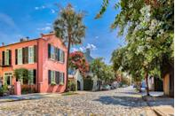 <p>The brightly colored houses, the cobblestone streets, the tall palm trees, the bougainvillea. . . there's so much European charm packed into this small Southern city that you'll feel like you're in Spain or southern France. </p>