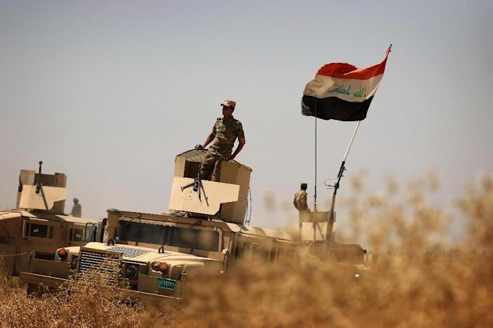 Iraqi forces have already reconquered towns north of Sherqat on the way to Mosul, the jihadists' last major stronghold in the country (AFP Photo/Safin Hamed)