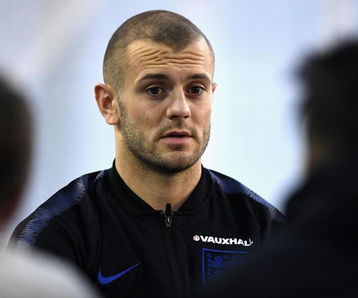 England vs Italy: Jack Wilshere ruled out after being sent back to Arsenal with knee injury