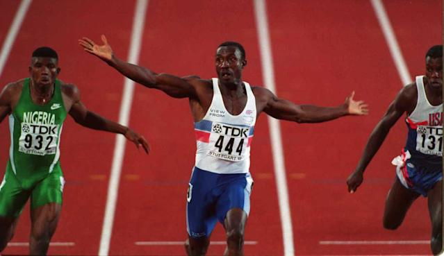<p>Britain would lose the 4x200m indoor relay record of 1:21.11, dating back to 1991, with Linford Christie part of that team. </p>