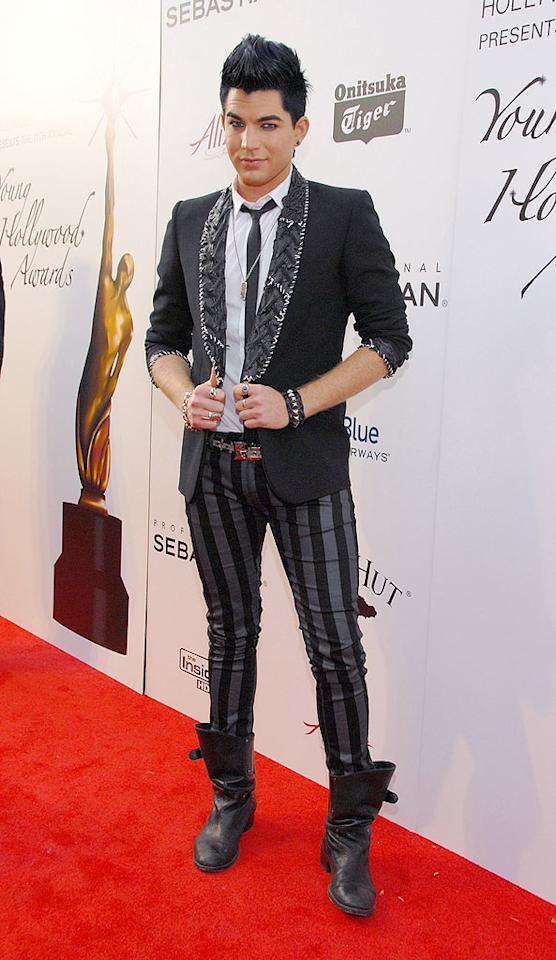"This week Adam Lambert revealed to the world ... something that pretty much everybody already knew. In addition to coming out in Rolling Stone, the ""American Idol"" runner-up also signed a record deal and announced plans for an album this fall. Mark Sullivan/<a href=""http://www.wireimage.com"" target=""new"">WireImage.com</a> - June 7, 2009"