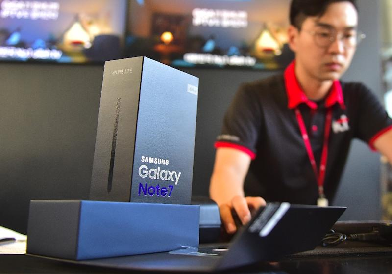 Samsung is already reeling from the debacle over the recall of its flagship Galaxy Note 7 device (AFP Photo/JUNG YEON-JE)