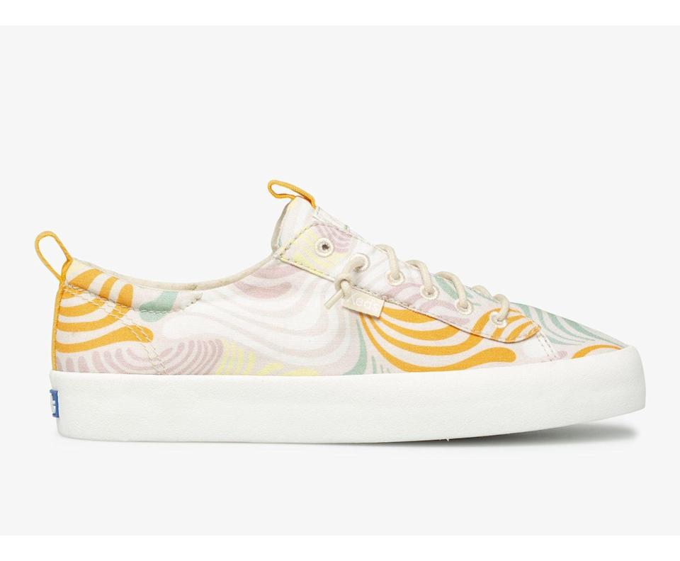 <p>The <span>Keds Kickback Washable Feat. Organic Cotton</span> ($55) will feel broken in, thanks to the relaxed uppers and cushiony footbeds. You'll reach for these easy slip-on styles any day, and they'll quickly make it to the list of favorites.</p>