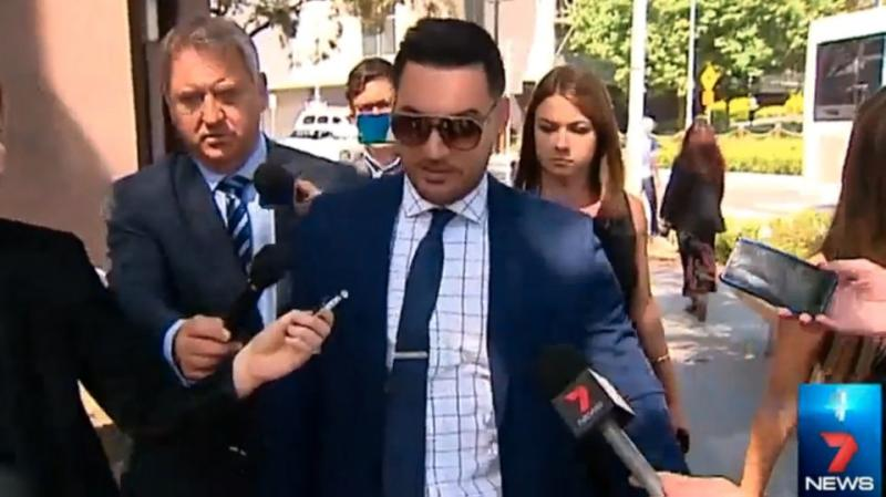 Controversial former deputy mayor Salim Mehajer has declined to comment on the issue. Photo: 7News