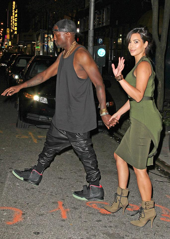 """Kanye West has put Kim Kardashian on a """"crash diet"""" of just """"lemon juice, cayenne pepper, and maple syrup,"""" reveals MediaTakeOut. The site says West wants his girlfriend """"supermodel"""" thin so she can be """"the face of his new clothing line."""" For how Kardashian's rebelling against the diet and West's controlling ways, see what a family friend tells <a target=""""_blank"""" href=""""http://www.gossipcop.com/kanye-west-kim-kardashian-diet-crash-liquid-lose-weight-cayenne-pepper-lemon-juice-maple-syrup/"""">Gossip Cop</a>."""