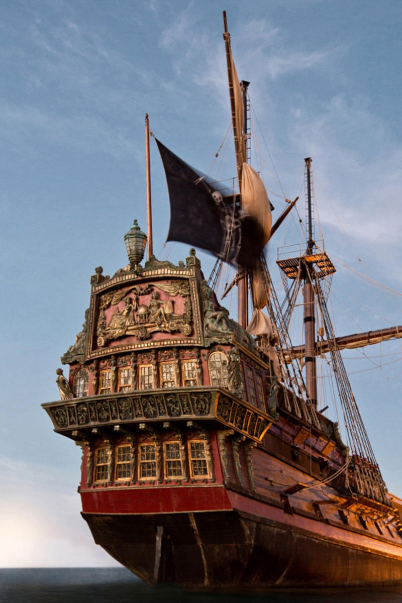 """This publicity photo provided by Starz Entertainment, LLC shows a scene from """"Black Sails."""" (AP Photo/Copyright Starz Entertainment, LLC, Keith Bernstein)"""