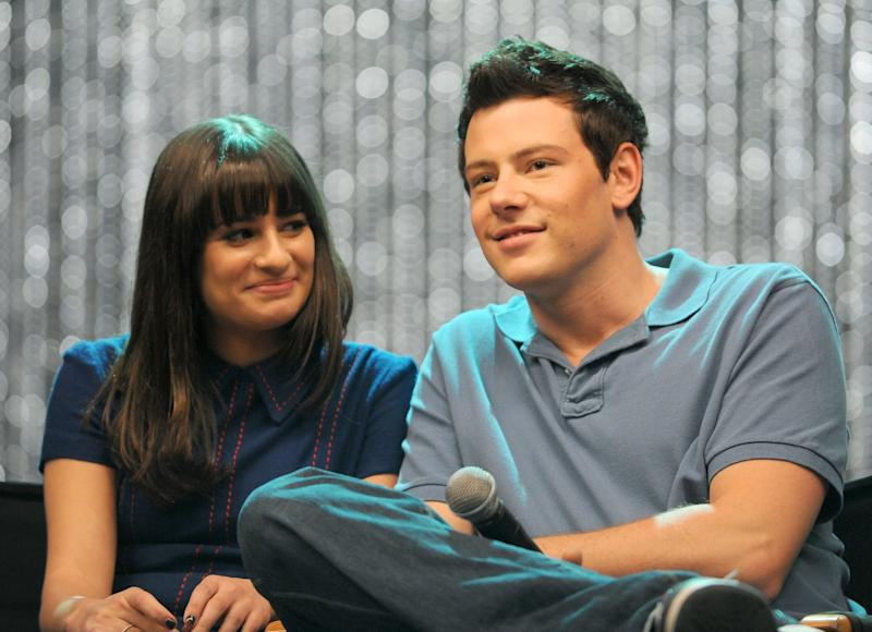 Lea Michele pays sweet tribute to Cory Monteith