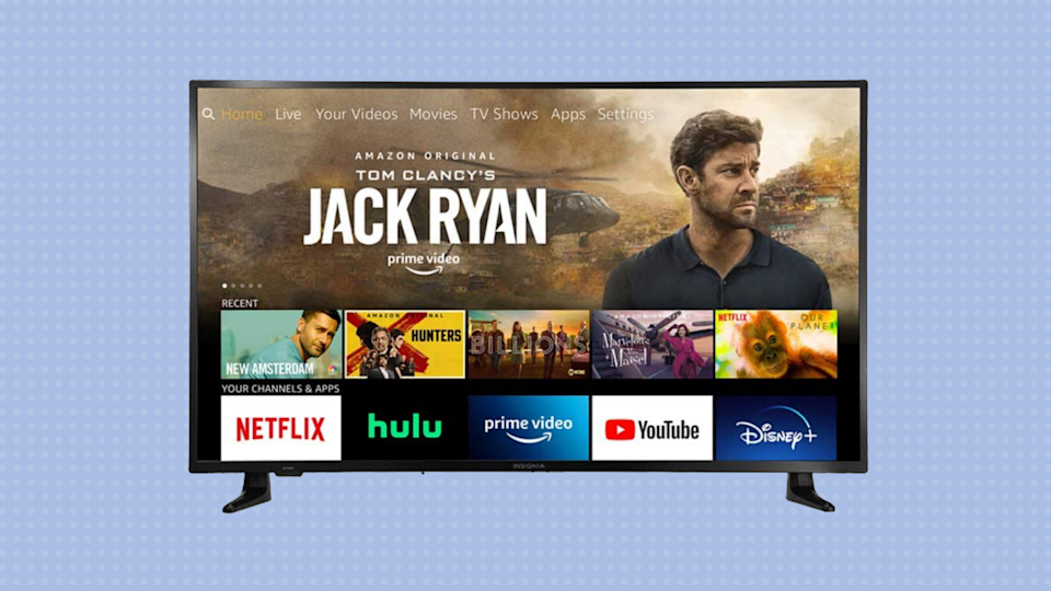 Do you need more John Krasinski in your life? Does anyone? Who knows. But you definitely need this overachieving 4K TV. (Photo: Insignia)