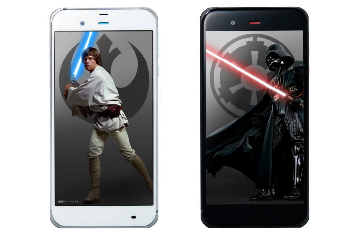 sharp star wars phone news front
