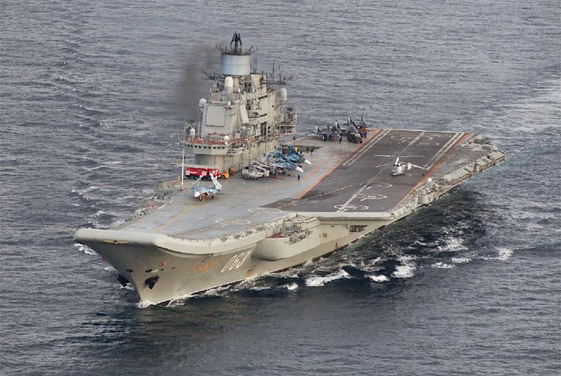 Russian aircraft on board the Admiral Kuznetsov  carrier conducted some 420 sorties during the two months that it was involved in the Syria mission, according to Moscow