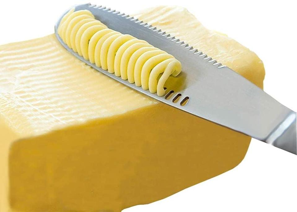 <p>This <span>Stainless Steel Butter Spreader</span> ($14) is so satisfying to use.</p>