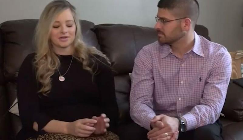 Parents Candice and Grayson found out they were having conjoined twins at 15 weeks. Source: WFMYNEWS2.com