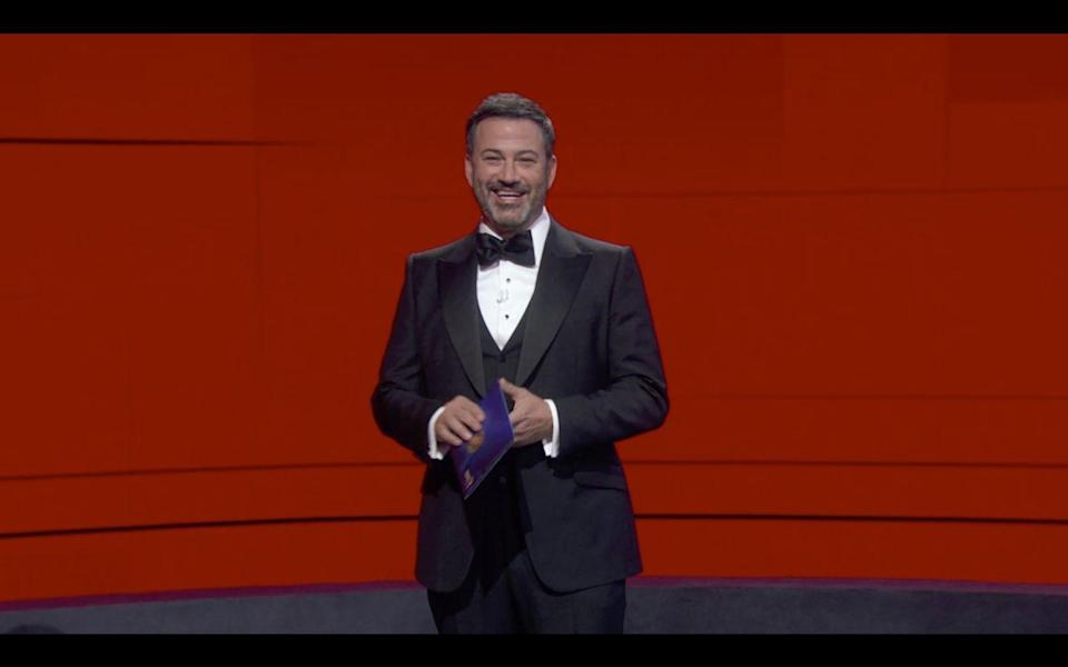 <p>After Kimmel lost his Emmy category to John Oliver he joked he's be calling ICE in the morning. Um, not cool Jimmy...</p>