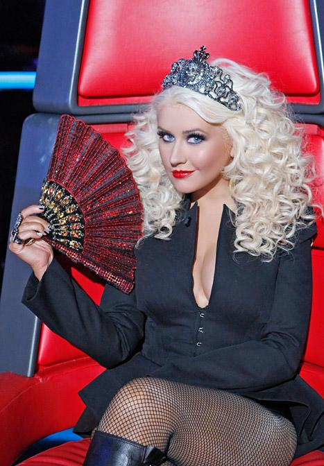 """Christina Aguilera: """"I Have Much Love"""" for Voice Finalists"""