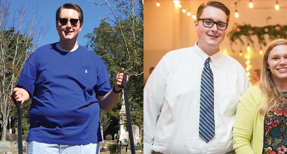 """Eric Hunnicutt struggled with weight for years, but decided to make healthy lifestyle changes after a doctor told him that he was """"morbidly obese."""" (Photo: Eric Hunnicutt)"""