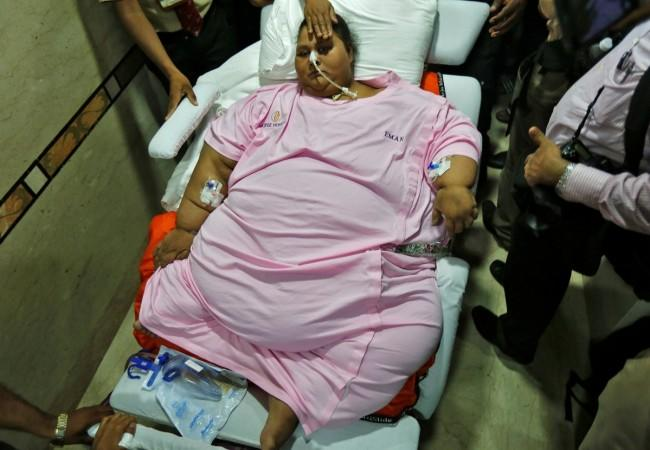 Eman Ahmed, obese, world's heaviest woman,