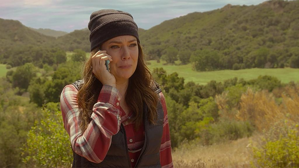 "<p><strong>On Lorelai's call to Emily:</strong> ""It was the scariest thing I had to do. It was one of the last things we did. It meant a lot to me personally, because it is a memory that Lorelai has of her father — who, in real life, had passed, and in the show, his absence was a very big presence. … ""It turns into really the first expression of true loss and anger and sadness between these two women, who, if they were different, would help each other through it. It's how she says 'I'm sorry' to her mom, and I just thought it was so beautiful.""<br /><a rel=""nofollow"" href=""https://www.yahoo.com/tv/emmys-gilmore-girls-star-lauren-graham-revisits-scariest-scene-140032615.html"">Watch the full video interview.</a><br /><br />(Credit: Netflix) </p>"