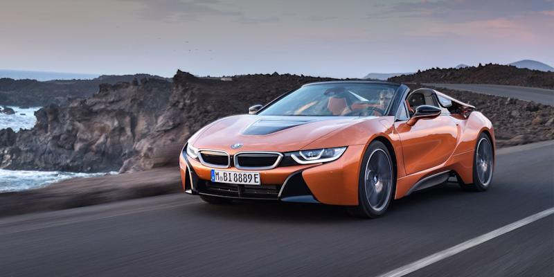 Cloth Roof No Back Seat More Money 2019 Bmw I8 Roadster Driven