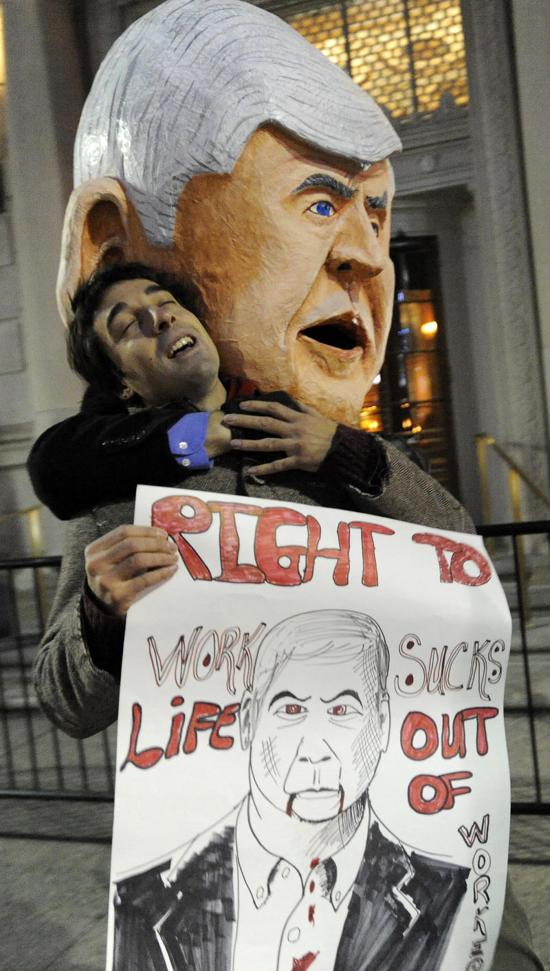 Mich. now right-to-work; effects will be delayed