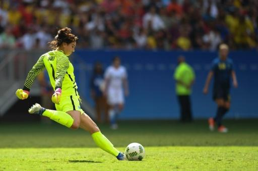 Goalkeeper Solo blasts Sweden 'cowards' as USA women bow out