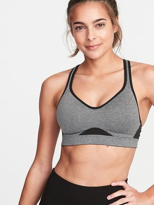 <p>If you need lots of support, this <span>Old Navy High Support Racerback Sports Bra</span> ($30, originally $33) is ideal.</p>