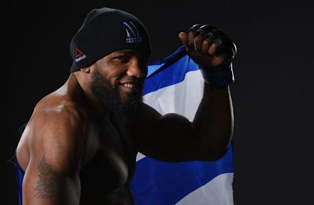Yoel Romero will face Robert Whittaker for the interim UFC middlewight title at UFC 213. (Getty)