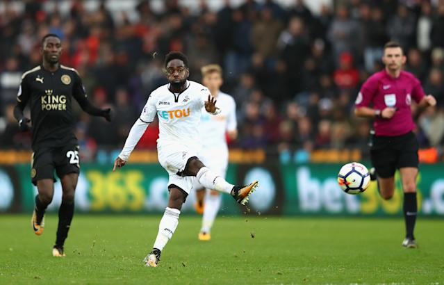 Nathan Dyer was another slight positive in a miserable game