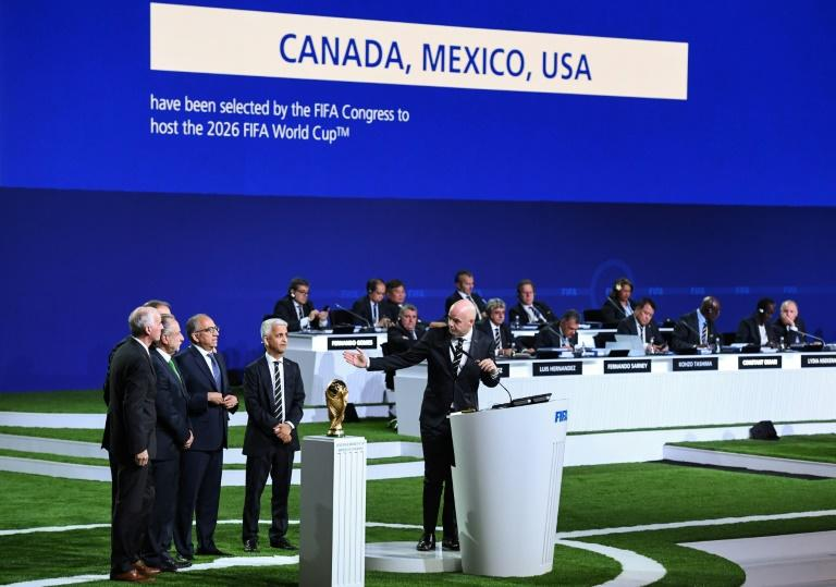 Canada, Mexico and the United States will host the 2026 World Cup