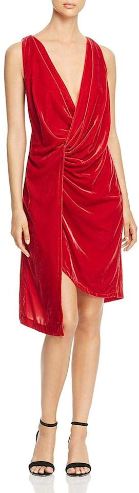 "<p>This <a href=""https://www.popsugar.com/buy/Kenneth-Cole-Twist-Wrap-Velvet-Dress-523508?p_name=Kenneth%20Cole%20Twist%20Wrap%20Velvet%20Dress&retailer=amazon.com&pid=523508&price=13&evar1=fab%3Auk&evar9=46947746&evar98=https%3A%2F%2Fwww.popsugar.com%2Ffashion%2Fphoto-gallery%2F46947746%2Fimage%2F46949311%2FKenneth-Cole-Twist-Wrap-Velvet-Dress&list1=shopping%2Camazon%2Choliday%2Choliday%20fashion%2Cfashion%20shopping&prop13=api&pdata=1"" rel=""nofollow"" data-shoppable-link=""1"" target=""_blank"" class=""ga-track"" data-ga-category=""Related"" data-ga-label=""https://www.amazon.com/Kenneth-Cole-New-York-Velvet/dp/B07HBN2QM5/ref=sr_1_49?crid=310SYFL0CO0OR&amp;dchild=1&amp;keywords=red%2Bvelvet%2Bdresses%2Bfor%2Bwomen&amp;qid=1574720479&amp;sprefix=red%2Bvelvet%2Bdress%2Caps%2C204&amp;sr=8-49&amp;th=1&amp;psc=1"" data-ga-action=""In-Line Links"">Kenneth Cole Twist Wrap Velvet Dress</a> ($13-$18) is an insane deal.</p>"