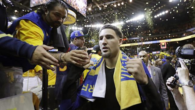 Klay Thompson is a free agent next summer, but nobody really expects him to leave Golden State.