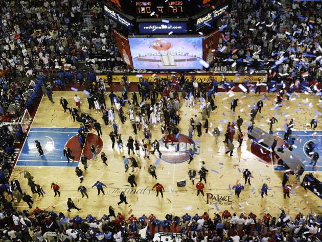 The Palace at Auburn Hills. (Getty Images)