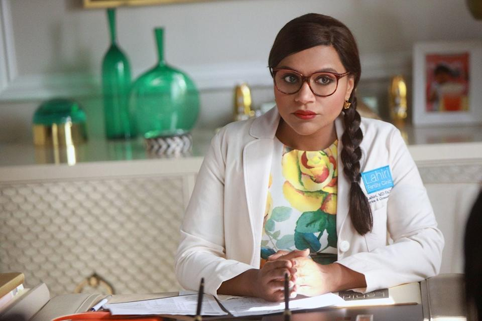 """""""The Mindy Project"""" (Fox to Hulu): Mindy Kaling (""""The Office"""") created this comedy about a single doctor trying to balance her work with her personal life. Fox canceled the show after three seasons before it was quickly picked up by Hulu, where it streamed for another three seasons until finally ending in 2017."""