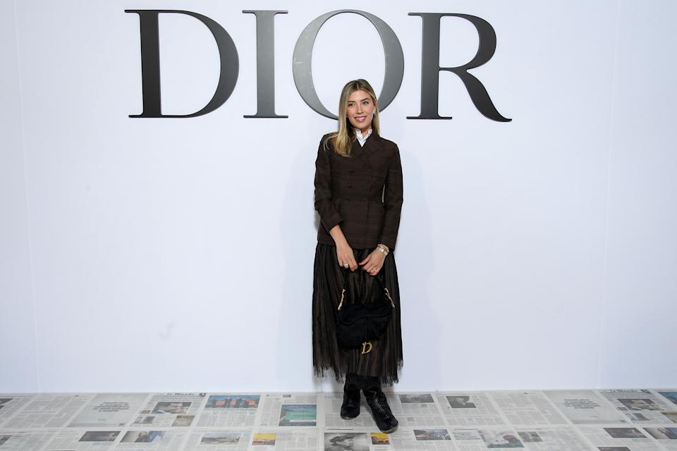 PARIS, FRANCE - FEBRUARY 25: Michelle Salas attends the Dior show as part of the Paris Fashion Week Womenswear Fall/Winter 2020/2021 on February 25, 2020 in Paris, France. (Photo by Pascal Le Segretain/Getty Images for Dior)