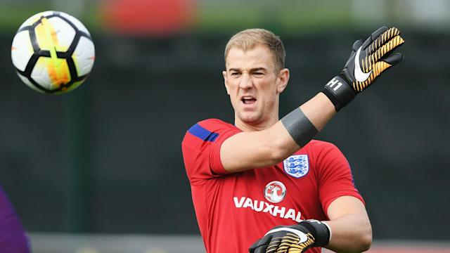 Goalkeeper Joe Hart had a big role in England's World Cup qualification and then played down criticism of his recent form.