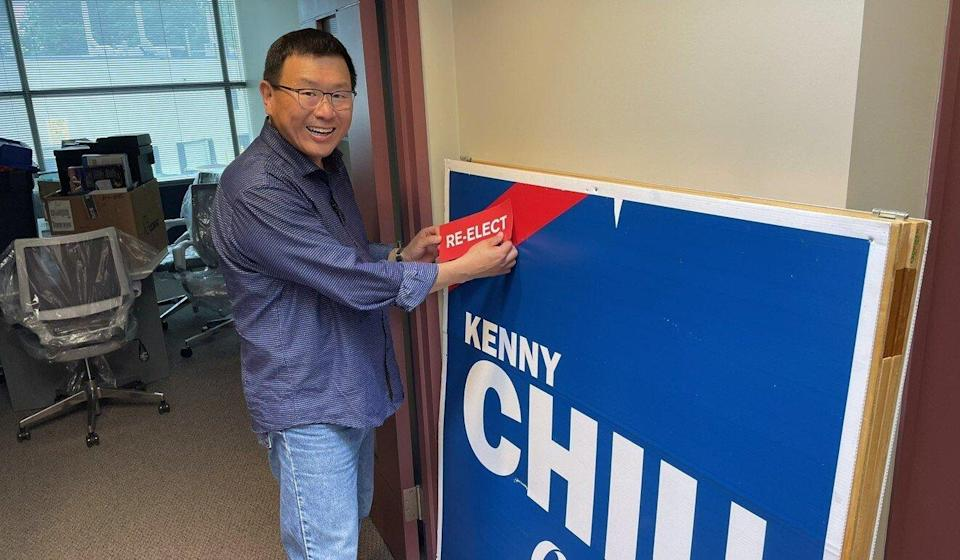 Conservative MP Kenny Chiu represented Steveston-Richmond East for less than two years before losing in the 2021 election. Photo: Kenny Chiu/Twitter