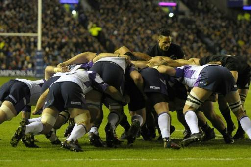 <p>All Blacks resist inspired Scotland</p>